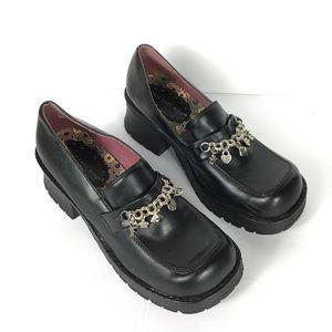 Vintage Shoes - Vintage 90's lugg platform mules (very rare)